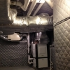 Mechanical Room - Wrap HVAC Ducts w/ LV-A; QB Material to Ceiling & Walls