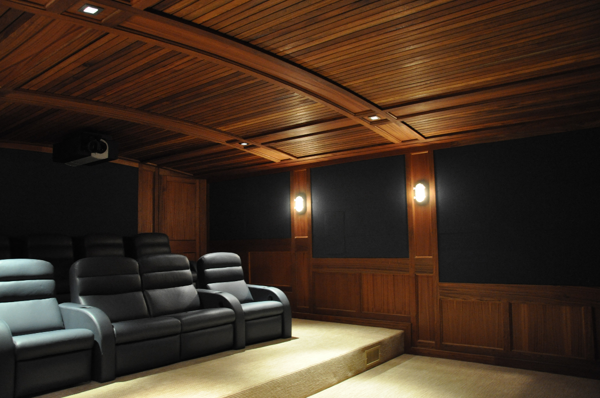Home Theater   East Hampton, NY   Acoustic Separation U0026 Acoustic Environment